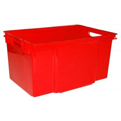 CROWNEST BOX 50L TRUE RED 58.7X39X30CM  Keter