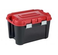 TOTEM BOX 60L ZWART-ROOD 59X39.5XH36CM