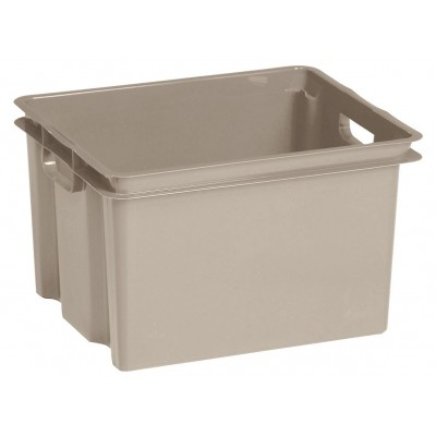 CROWNEST BOX 30L TAUPE 42.6X36.1X26CM  Keter
