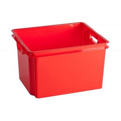 CROWNEST BOX 30L TRUE RED 42.6X36.1X26CM  Keter