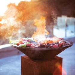 BBQ-WORKSHOP HOUTGESTOOKTE BBQ OFYR/BRAAIMASTER