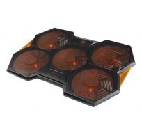 GAM-072 gaming laptop koeler zwart/orange