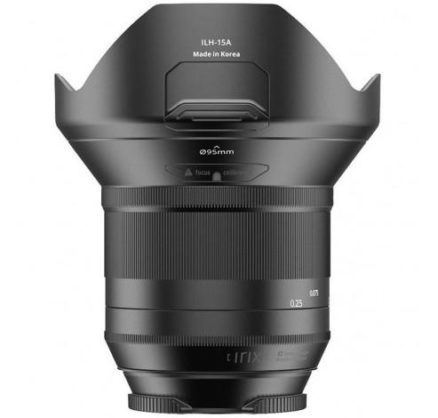 15mm f/2.4 Blackstone Pentax  Irix