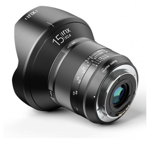15mm f/2.4 Blackstone Canon  Irix