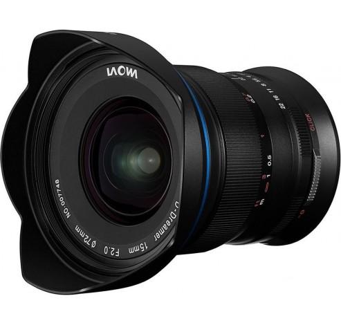 15mm f/2 ZERO-D Canon RF  Laowa
