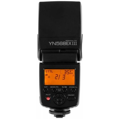 Speedlight YN568EX III flitser Canon  Yongnuo