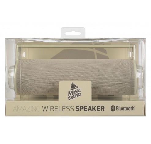 Speaker BT draagbare LS BT beige  Music Sound