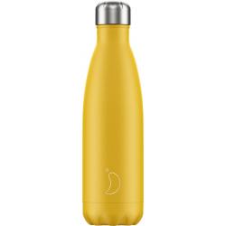 Isoleerfles Matte Burnt Yellow 500ml