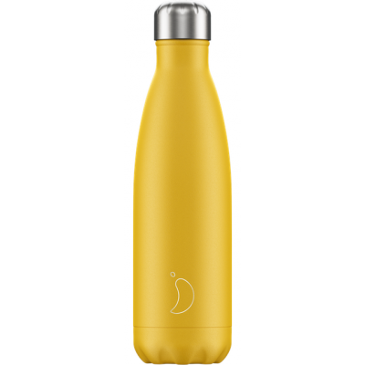 Isoleerfles Matte Burnt Yellow 500ml  Chilly's