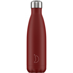 Isoleerfles Matte Red 500ml