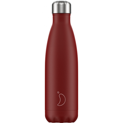 Isoleerfles Matte Red 500ml  Chilly's
