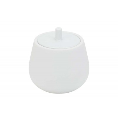 CHARMING WHITE SUIKERPOT 31CL H9,5CM  HGY by Cosy & Trendy