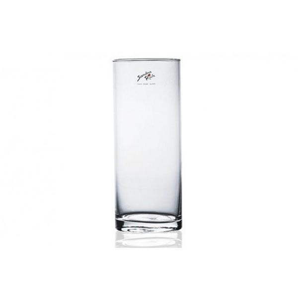 CILINDERVAAS TRANSPARANT D10XH25CM GLAS