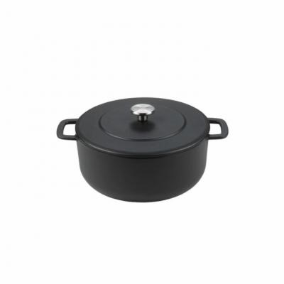 Sous-Chef Dutch Oven 24cm Zwart  Combekk