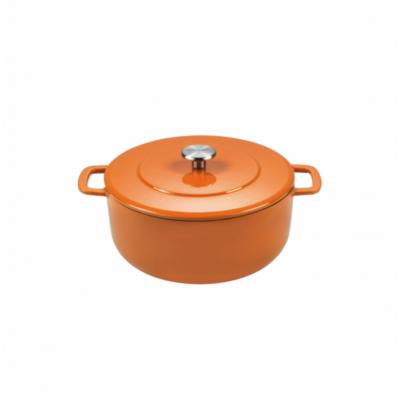 Sous-Chef Dutch Oven 24cm Oranje  Combekk