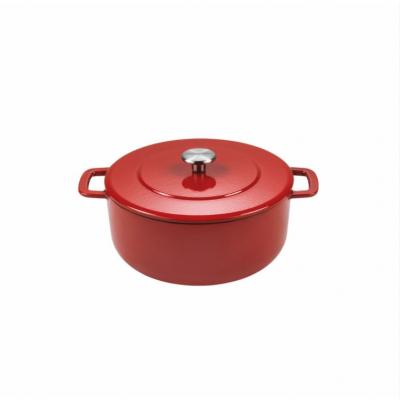 Sous-Chef Dutch Oven 24cm Rood  Combekk