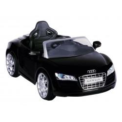 Audi R8 accu-auto voor kinderen zwart Wara