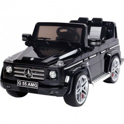 Mercedes G55 AMG accu-auto voor kinderen Zwart Wara