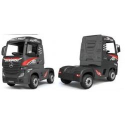 Mercedes Actross accu-truck voor kinderen zwart of rood Wara