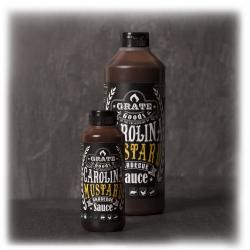 Carolina Mustard BBQ Sauce 265ml  Grate Goods