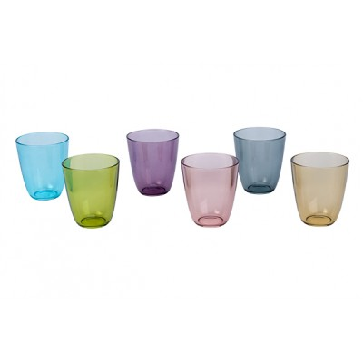 COSY MOMENTS STREETFOOD GLAS 31CL SET6STREETFOOD FESTIVAL  Cosy Moments by Cosy & Trendy
