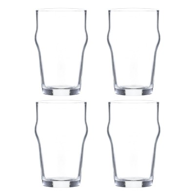 Essentials set van 4 Nonik bierglazen 280ml  Ravenhead
