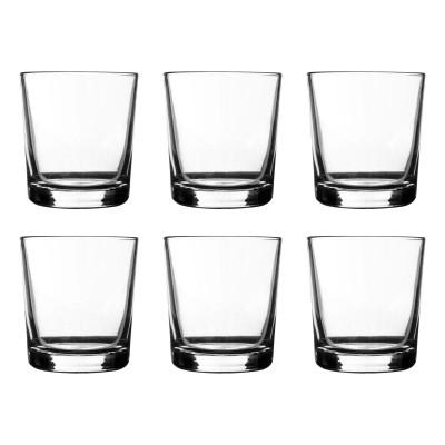 Essentials set van 6 lage drinkglazen 200ml  Ravenhead