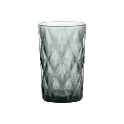 Gemstone Smoke hoog drinkglas grijs 340ml  Ravenhead