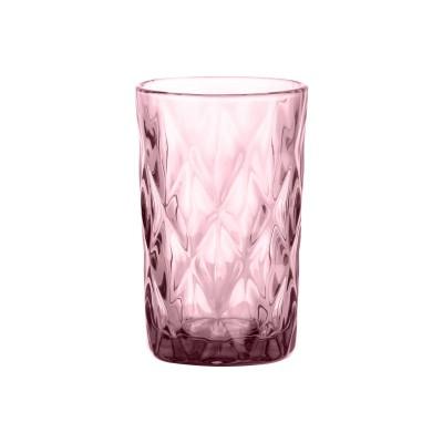 Gemstone Amethyst hoog drinkglas roze 340ml  Ravenhead