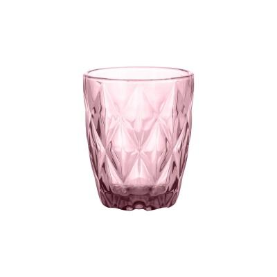 Gemstone Amethyst laag drinkglas roze 270ml  Ravenhead