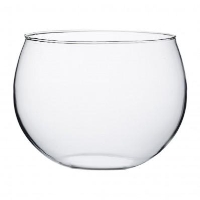 Selected serveerschaal uit glas in cadeauverpakking Ø 23cm