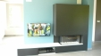 Panasonic Led tv, Marantz MCR dvd-stereo set, B&W inbouwluidsprekers.